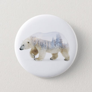 Badges Ours blanc