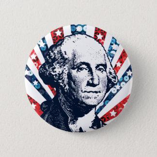 Badges paillette George Washington