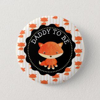 Badges Papa à être thème de régions boisées de bouton