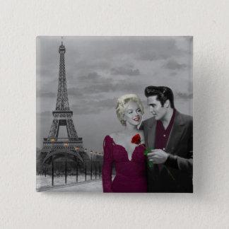 Badges Paris B&W 2