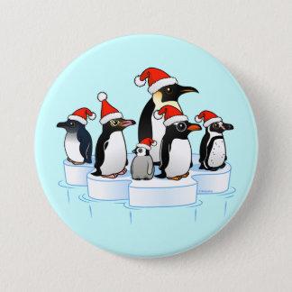 Badges Partie de pingouin de Noël