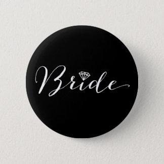 Badges Partie nuptiale de mariage chic de diamant de