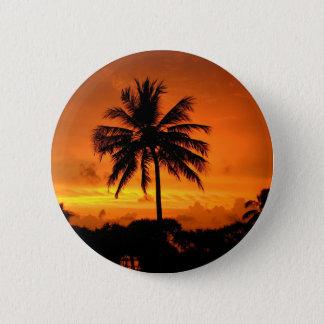 Badges Paumes et coucher du soleil