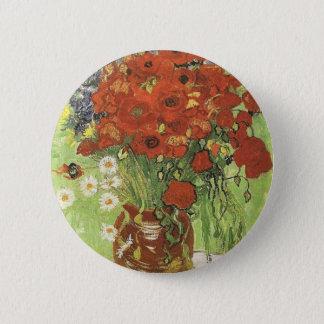 Badges Pavots de Van Gogh