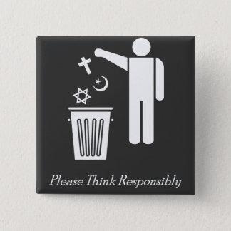 Badges Pensez svp de façon responsable