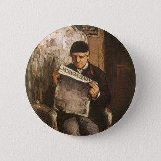 Badges Père de Louis Auguste Cezanne de la lecture