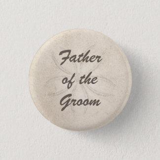 Badges Père de sérénité de plage du bouton de marié