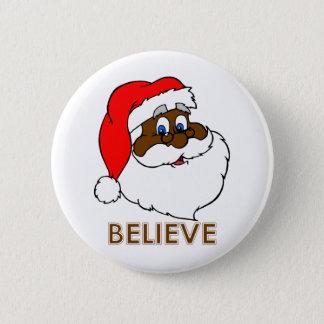 Badges Père Noël noir