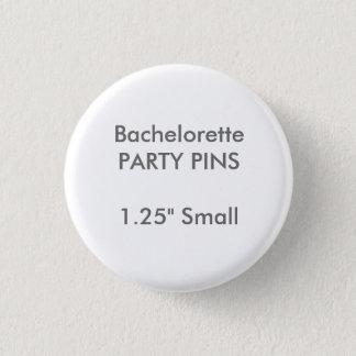 Badges Petit Pin rond de partie de Bachelorette de la