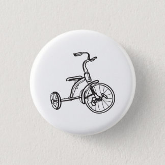 Badges peu de bouton de tricycle