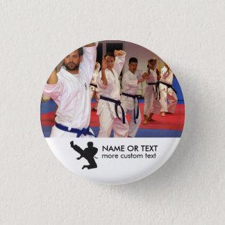Badges Photo personnalisée et nom de karaté d'arts