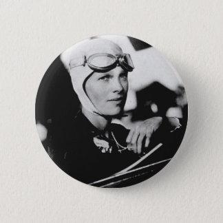 Badges Photo vintage d'Amelia Earhart