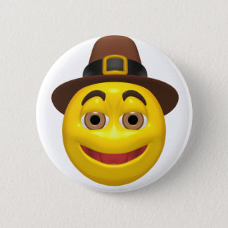 Badges Pilgram jaune de bon thanksgiving