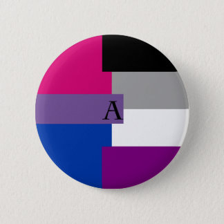 Badges Pin asexuel d'as de Bi de Biromantic