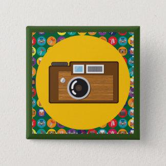 Badges Pin carré de REMEMBER* [il séries