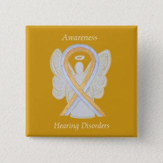 Badges Pin d'ange de ruban de conscience de troubles de