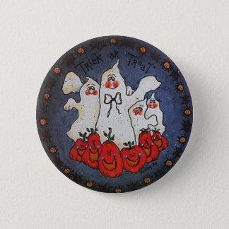 Badges Pin de bouton de fantôme de des bonbons ou un sort