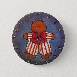 Badges Pin de bouton de garçon de pain d'épice