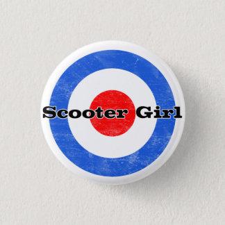 Badges Pin de fille de scooter
