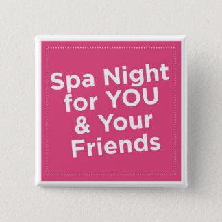 Badges Pin de nuit de spa