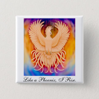 Badges Pin d'oiseau de Phoenix