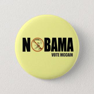 Badges Pin drôle de bouton de McCain anti Obama de vote
