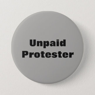 Badges Pin impayé de protestataire