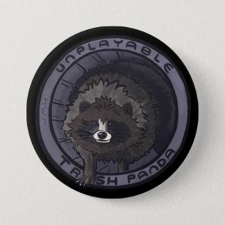 Badges Pin injouable de panda de déchets - aucun