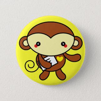 Badges Pin mignon de singe