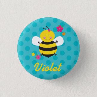Badges Pin personnalisé par abeille mignonne/bouton