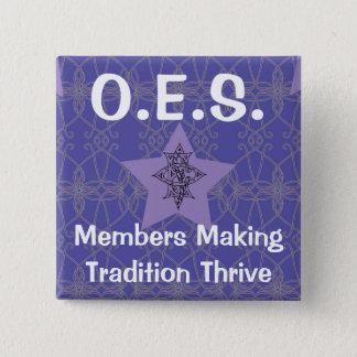 Badges Pin pourpre d'étoile orientale