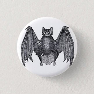 Badges Pin punk gothique de bouton de batte vintage