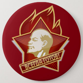 Badges Pioneers goupille bouton feat. Lenin