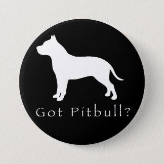 Badges Pitbull obtenu Bouton-Noir