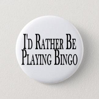 Badges Plutôt joue le bingo-test