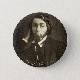 Badges Poète Walt Whitman à la Nouvelle-Orléans