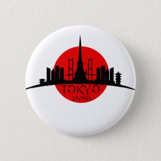 Badges Point de repère de Tokyo