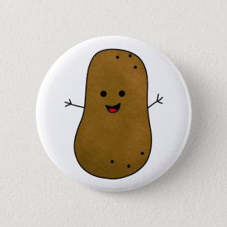 Badges Pomme de terre heureuse mignonne