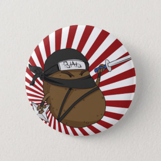 Badges Pomme de terre Ninja