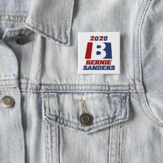 Badges Ponceuses de Bernie pour le président 2020