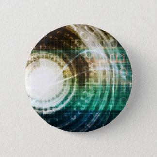 Badges Portail futuriste de technologie avec Digitals