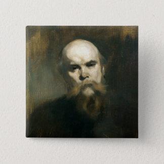 Badges Portrait de Paul Verlaine 1890