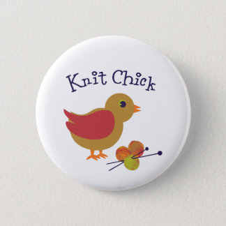 Badges Poussin de Knit