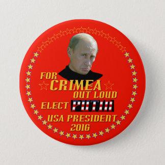 Badges Poutine pour le président Etats-Unis 2016