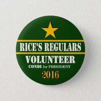 Badges Président 2016 de riz de Condeleeza