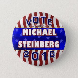 Badges Président de Michael Steinberg élection 2016