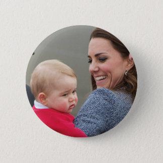 Badges Prince George - William et Kate