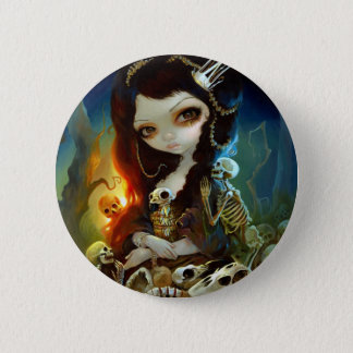 "Badges ""Princesse bouton d'os"""
