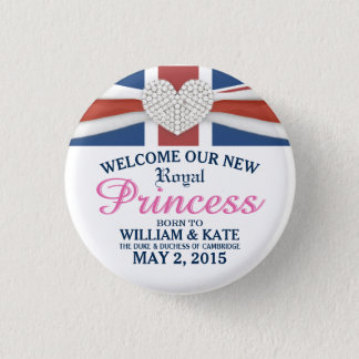 Badges Princesse royale William et Pin de souvenir de