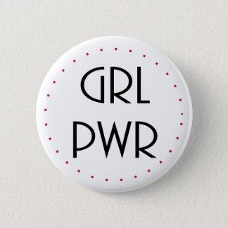 Badges puissance de fille